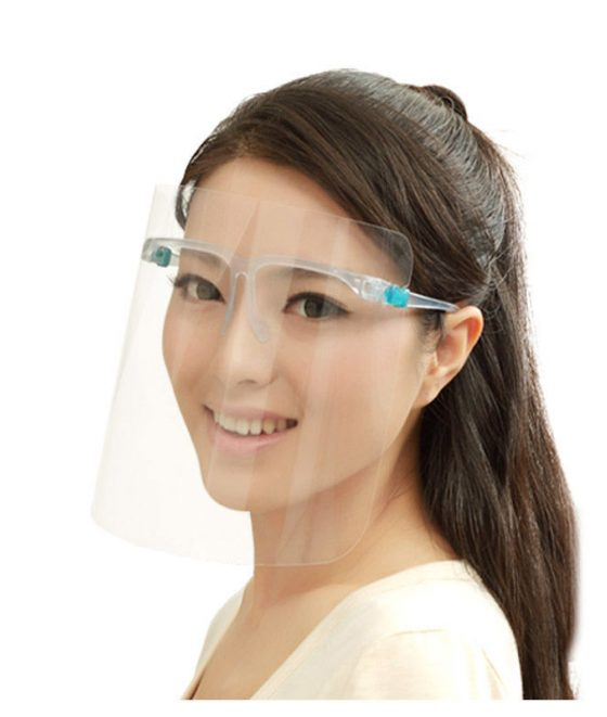 face shield glasses