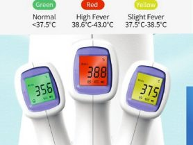 Thermometer Flyer Farenheit colors